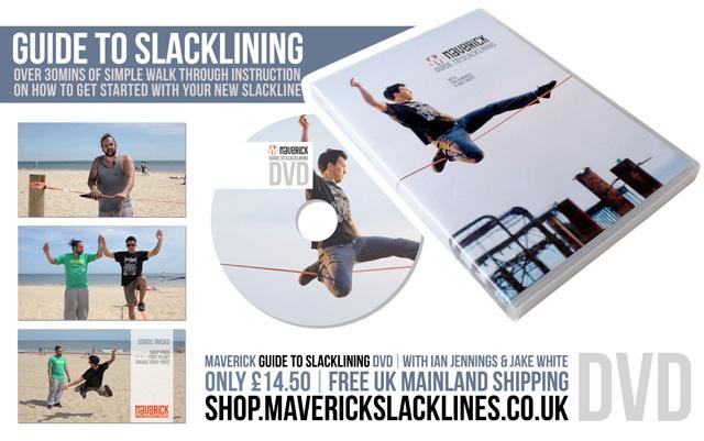 Maverick Slackline DVD