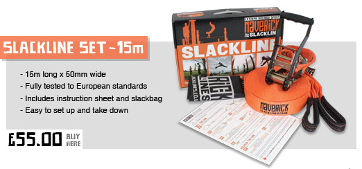 15 Maverick Slackline Kit