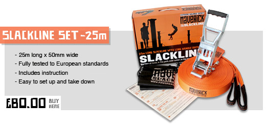 25m Maverick Slackline Kit