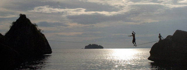 Slackline Thailand