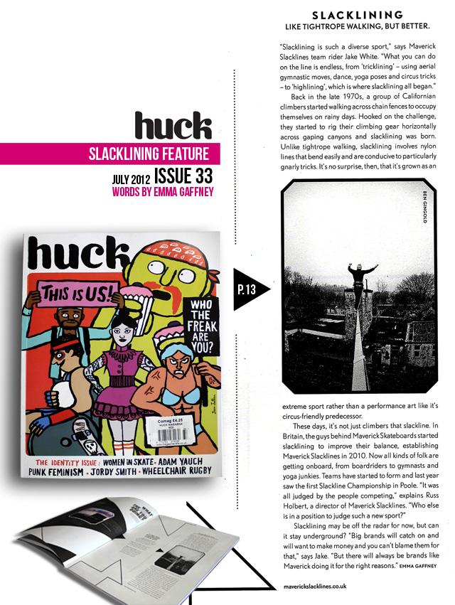 HUCK 33 Slackline