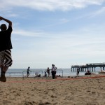 Boscombe Pier - Slackline Demo / Workshop