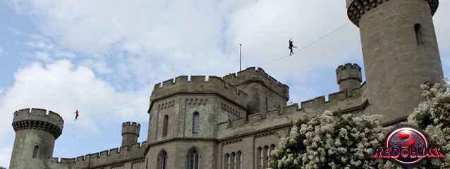 Red or Black Castle Slackline