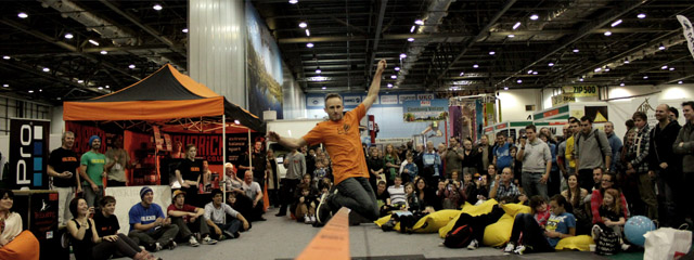 Maverick at The Outdoors Show