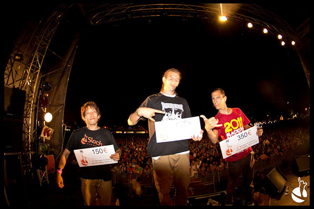 NATURAL GAMES 2012. SLACKLINE RESULTATS