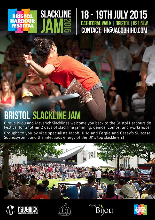 Bristol Slackline Jam